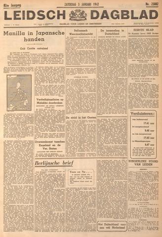 Leidsch Dagblad 1942-01-03