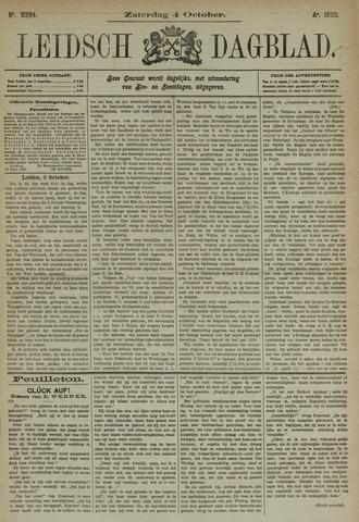Leidsch Dagblad 1890-10-04