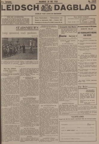 Leidsch Dagblad 1938-05-30