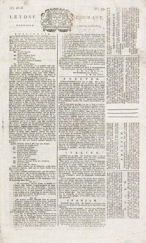 Leydse Courant 1818-08-19