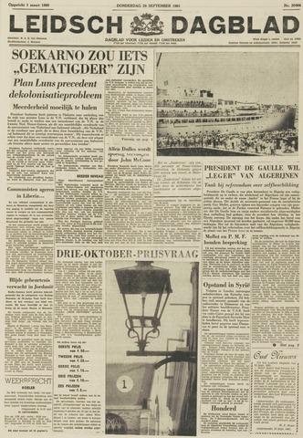 Leidsch Dagblad 1961-09-28