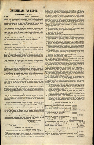 Handelingen van de Raad 1881-12-07