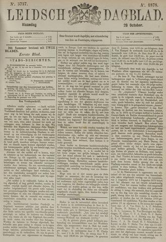 Leidsch Dagblad 1878-10-28