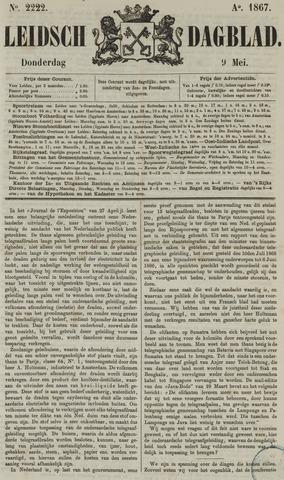 Leidsch Dagblad 1867-05-09