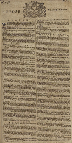 Leydse Courant 1758-05-31