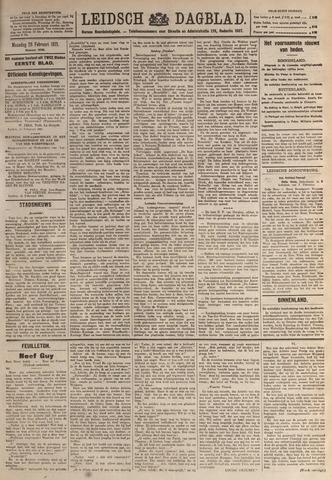 Leidsch Dagblad 1921-02-28