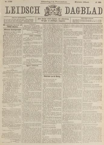 Leidsch Dagblad 1916-11-14