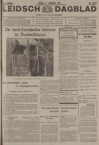 Leidsch Dagblad 1938-11-11