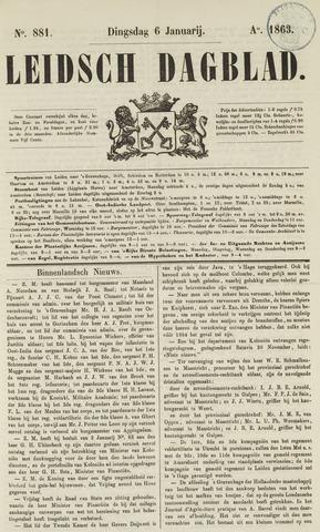 Leidsch Dagblad 1863-01-06
