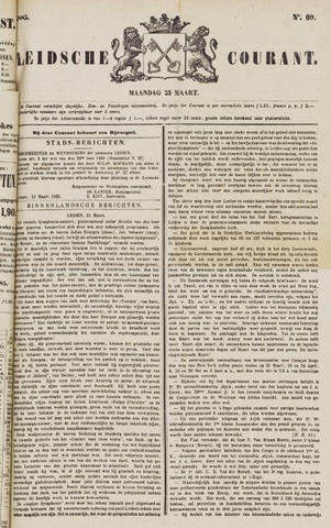 Leydse Courant 1885-03-23