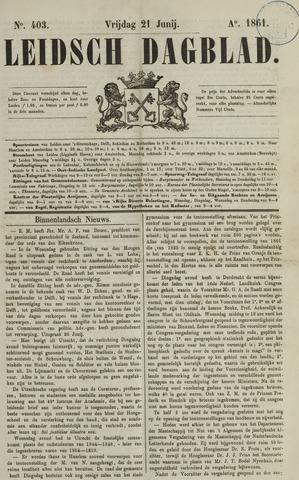 Leidsch Dagblad 1861-06-21