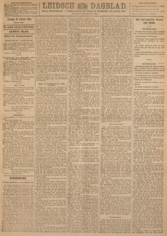 Leidsch Dagblad 1923-02-10