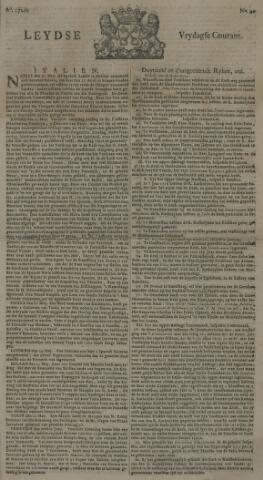 Leydse Courant 1720