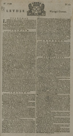 Leydse Courant 1739-05-22