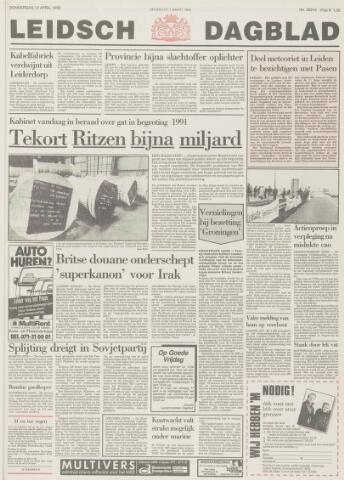 Leidsch Dagblad 1990-04-12
