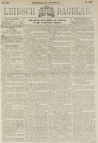 Leidsch Dagblad 1892-01-19