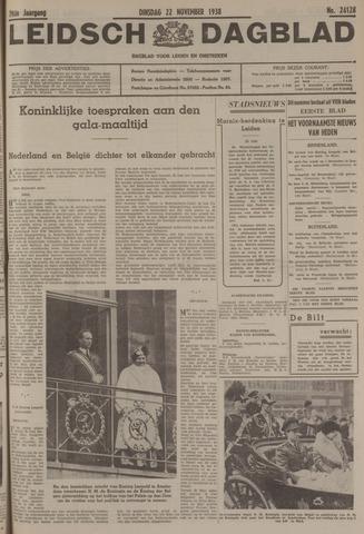 Leidsch Dagblad 1938-11-22
