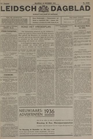 Leidsch Dagblad 1935-12-16