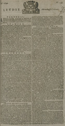 Leydse Courant 1734-12-06