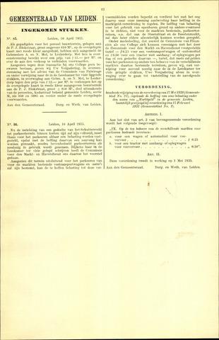 Handelingen van de Raad 1935-04-10