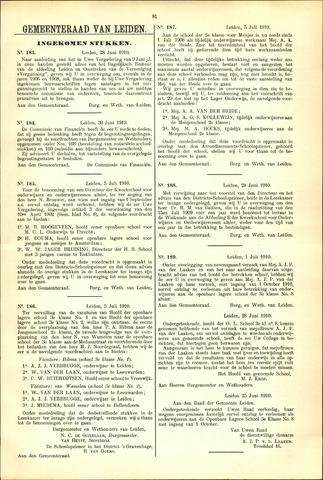 Handelingen van de Raad 1910-06-28