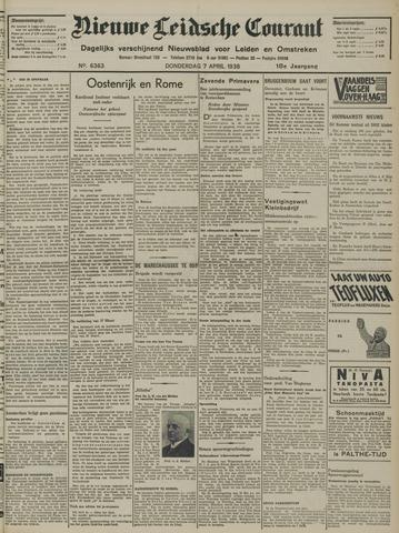 Nieuwe Leidsche Courant 1938-04-07