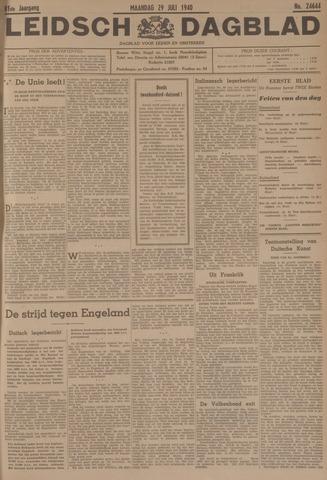 Leidsch Dagblad 1940-07-29