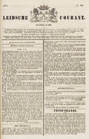 Leydse Courant 1873-05-19