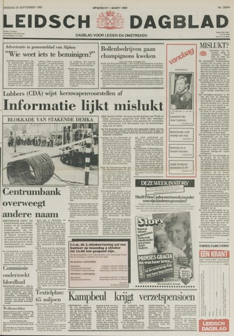Leidsch Dagblad 1982-09-28