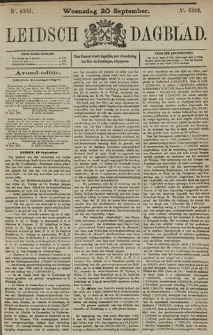 Leidsch Dagblad 1882-09-20