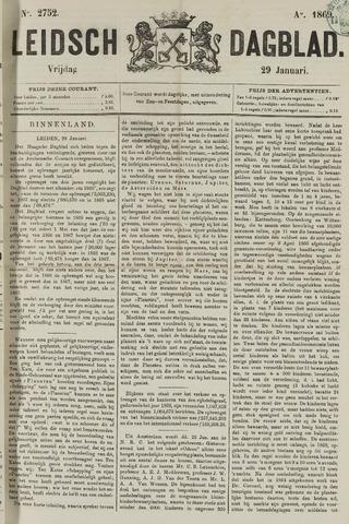 Leidsch Dagblad 1869-01-29