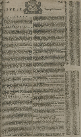 Leydse Courant 1748-11-15