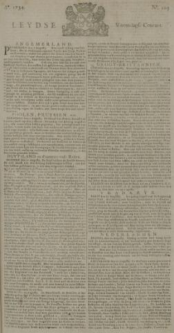 Leydse Courant 1734-09-01