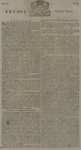 Leydse Courant 1727-11-28