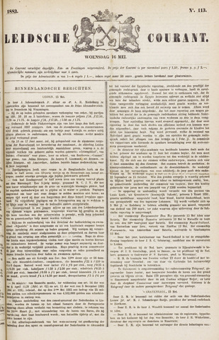 Leydse Courant 1883-05-16