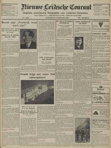 Nieuwe Leidsche Courant 1939-02-08