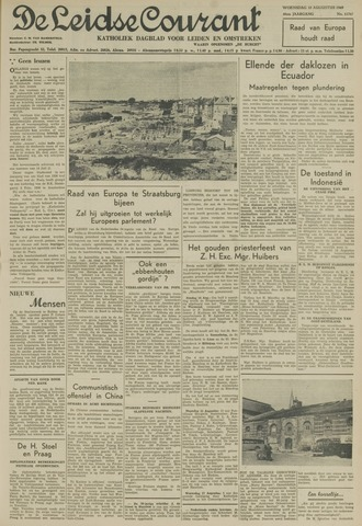 Leidse Courant 1949-08-10