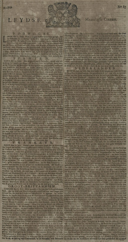 Leydse Courant 1729-07-18