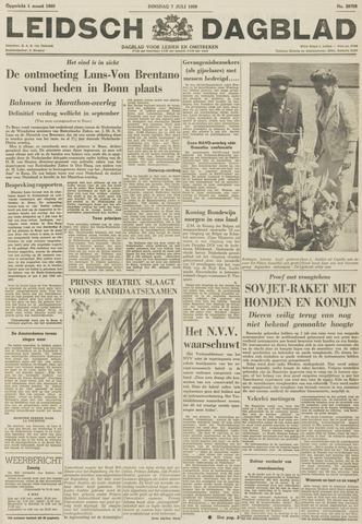 Leidsch Dagblad 1959-07-07