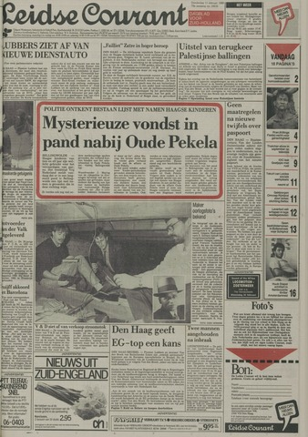 Leidse Courant 1988-02-11