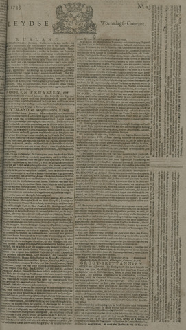 Leydse Courant 1743-01-30