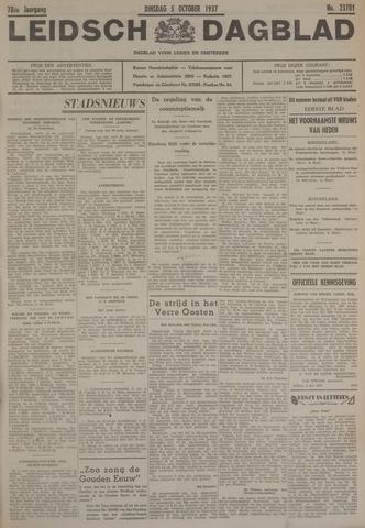 Leidsch Dagblad 1937-10-05
