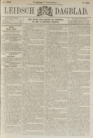 Leidsch Dagblad 1892-10-07