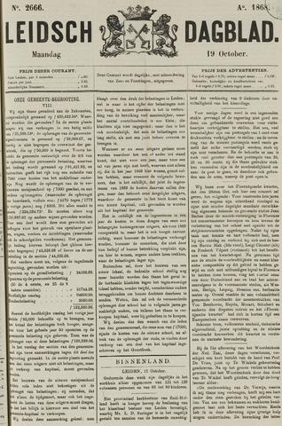 Leidsch Dagblad 1868-10-19