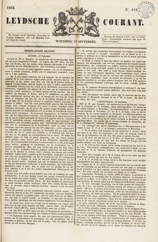 Leydse Courant 1862-09-17