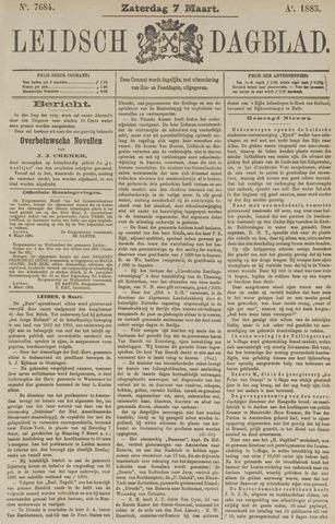 Leidsch Dagblad 1885-03-07