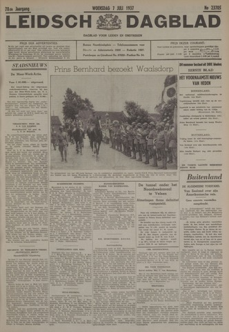 Leidsch Dagblad 1937-07-07