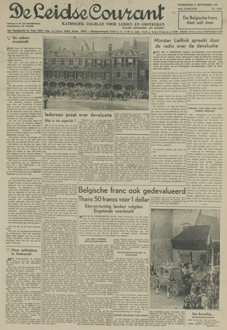Leidse Courant 1949-09-21