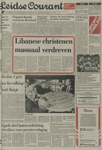 Leidse Courant 1985-04-29