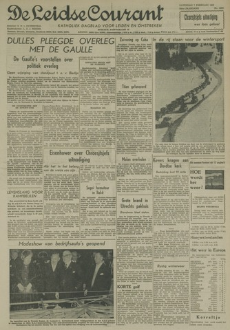 Leidse Courant 1959-02-07